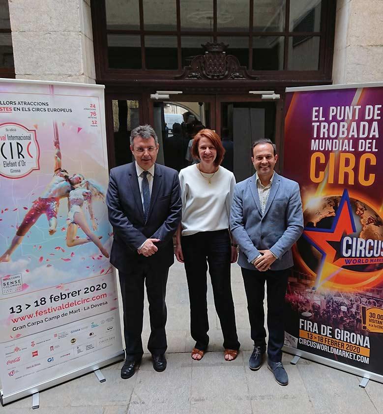 Circ Elefant d'Or i la Diputació de Girona